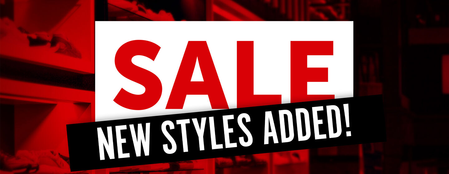 Sale - New Styles Added