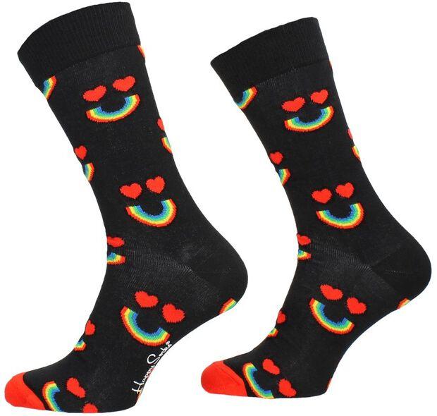 Happy Rainbow Sock - large