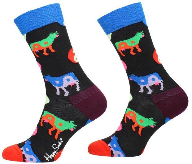Yin Yang Cow Sock - large