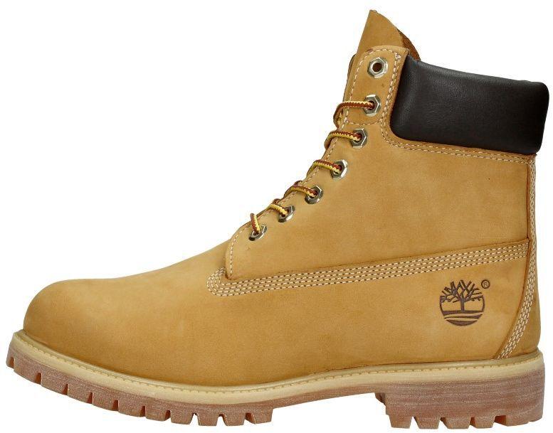 6 Inch Premium Boot geel