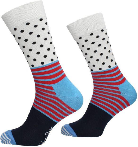 Stripe and Dot Sock - large