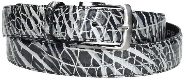 Belt Croco Zebra - large