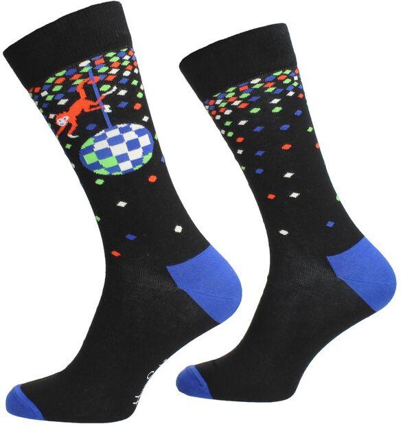 Disco Monkey Sock - large