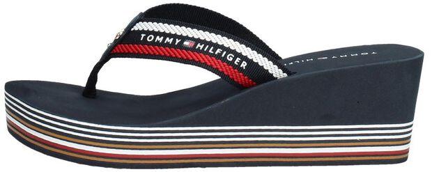 Stripy Wedge Beach Sandal - large