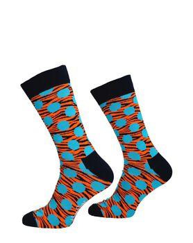 Tiger Dot Sock
