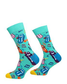 Rolling Stones Thumbling Dice Sock