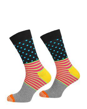 Stripe and Dot Sock