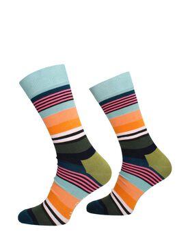 Multi Stripe Sock