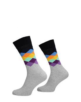 Faded Diamond Sock