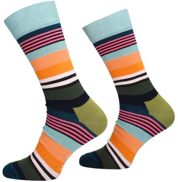 Multi Stripe Sock - large