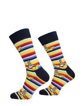 Beatles All On Board Sock