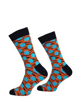 Tiger Dot Sock