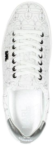 Skool Ikon Print Lace - large