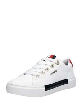 Leather Elevated Tommy Sneaker