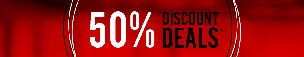 50 procent discount deals